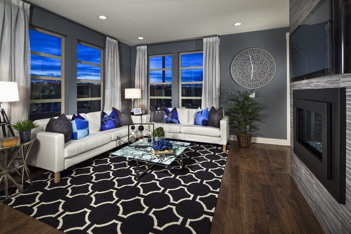 Royal Blue Living Room Decor New Homes for Sale In Denver Co by Kb Home