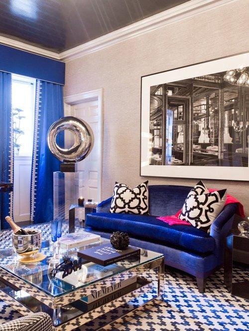 Royal Blue Living Room Decor Royal Blue Ideas Remodel and Decor