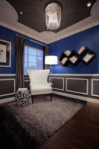 Royal Blue Living Room Decor Sittting Room Love the Royal Blue Charcoal Grey