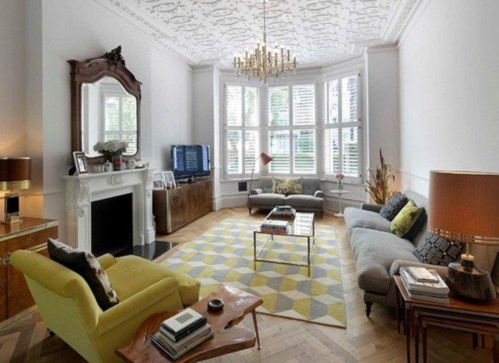 Rug for Living Room Ideas 7 Geometric Pattern Living Room Rugs Ideas 4 7 Geometric