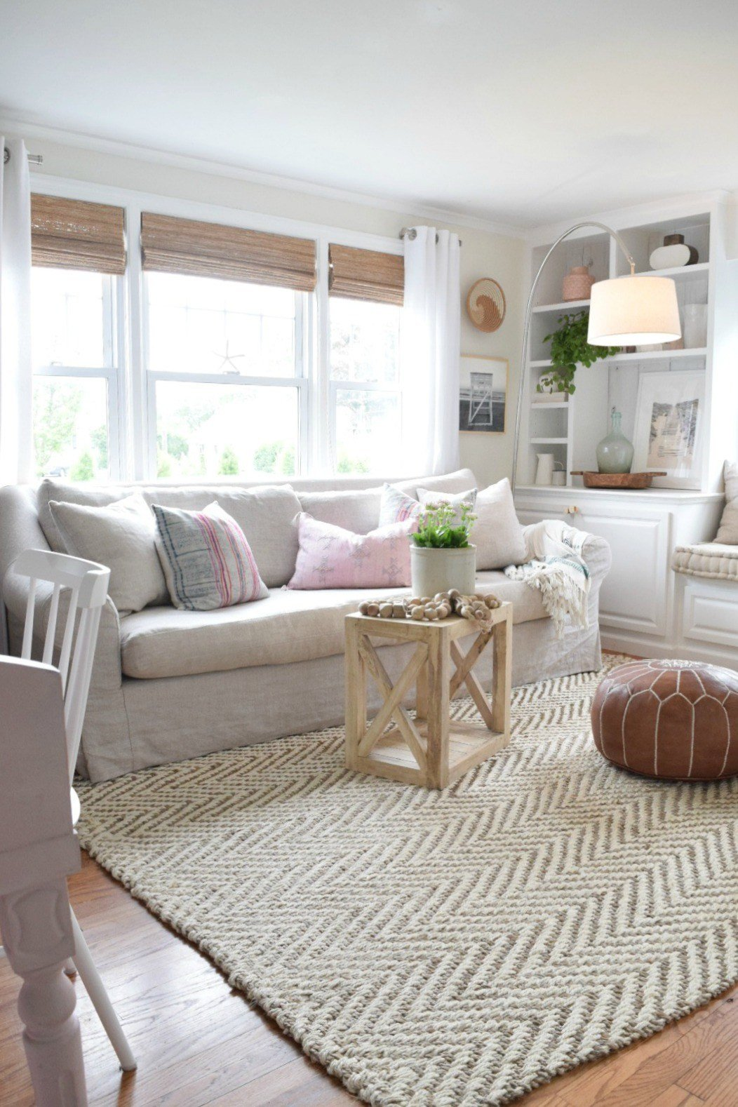 Rug for Living Room Ideas Jute Rug Review In Our Living Room Nesting with Grace