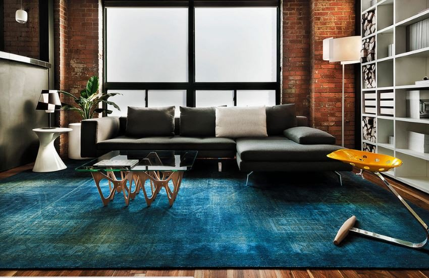 Rugs Contemporary Living Room 10 Rooms with Overdyed Rugs