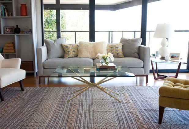 Rugs Contemporary Living Room the Beauty Of Contrast Traditional Rugs In Contemporary