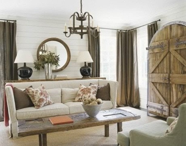 Rustic Chic Decor Living Room 55 Airy and Cozy Rustic Living Room Designs