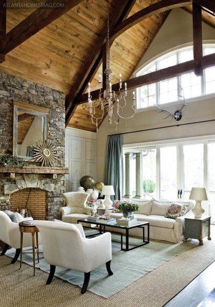 Rustic Chic Decor Living Room Rustic Chic Home Decor