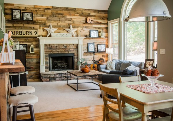 Rustic Living Room Ideas 15 Homey Rustic Living Room Designs