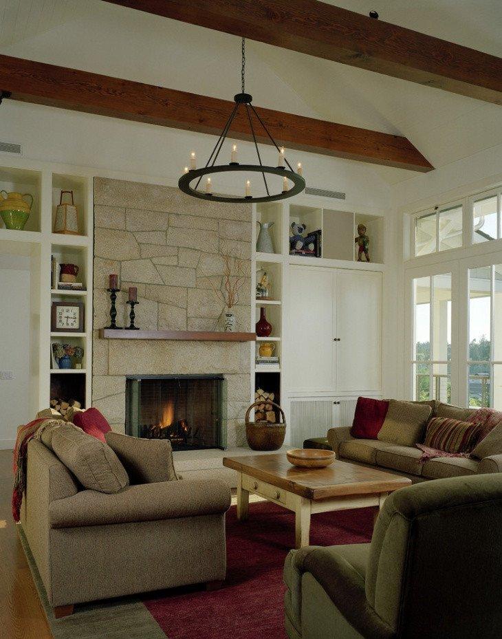 Rustic Living Room Ideas 19 Rustic Living Room Designs Decorating Ideas