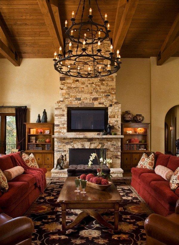 Rustic Living Room Ideas 35 Gorgeous Rustic Living Room Design Ideas Decoration Love