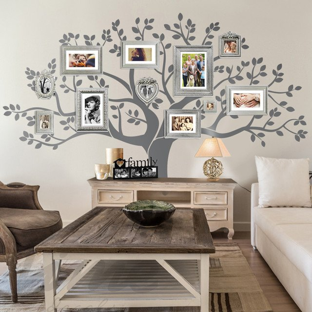 Rustic Living Room Wall Decor Rustic Living Room Family Tree Wall Decor Rustic