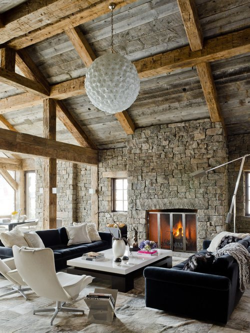 Rustic Modern Decor Living Room Rustic Modern Living Room Home Design Ideas