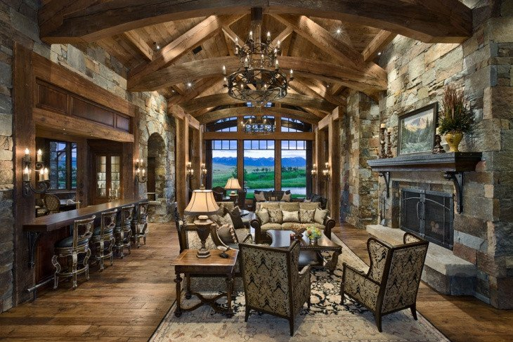 Rustic Traditional Living Room 19 Rustic Living Room Designs Decorating Ideas