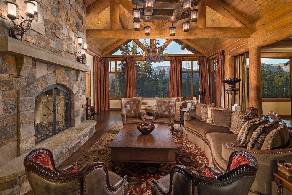 Rustic Traditional Living Room 30 Stunning Rustic Living Room Ideas