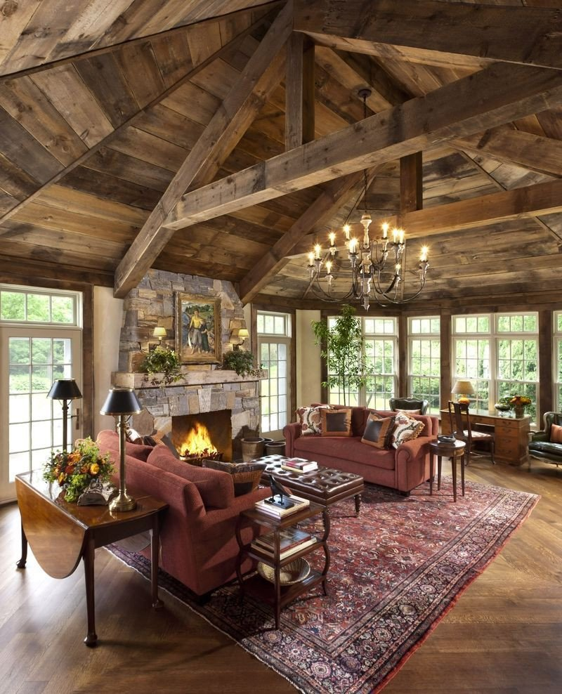 Rustic Traditional Living Room 40 Rustic Living Room Ideas to Fashion Your Revamp Around