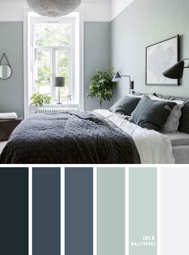 Sage Green Bedroom Ideas Sage and Dark Blue Bedroom 25 Best Color Schemes for Your