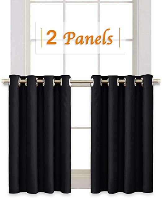 Short Curtains for Bedroom Amazon Ryb Home Half Window Kitchen Curtains Valances