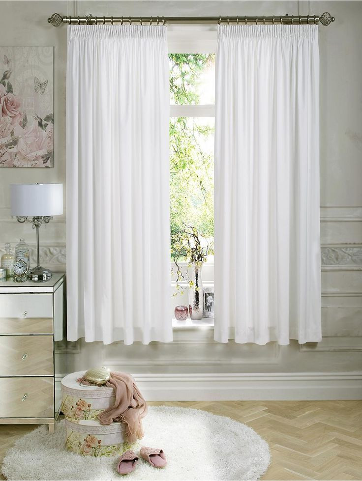 Short Curtains for Bedroom Short Length Bedroom Curtains White Color