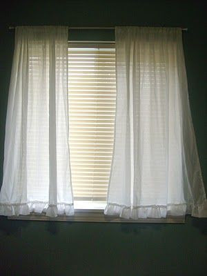 Short Curtains for Bedroom Windows Bathroom Curtains with Matching Ruffles