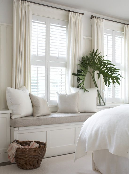 Short Curtains for Bedroom Windows Dreamy Whites & soft Blues