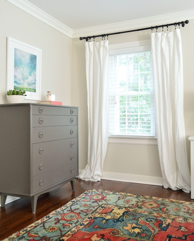 Short Curtains for Bedroom Windows How to Make Cheap Ikea Curtains Look Good