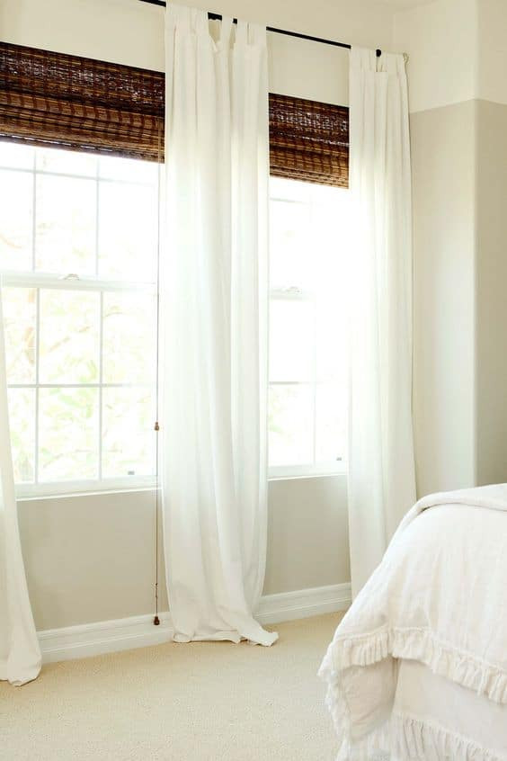 Short Curtains for Bedroom Windows What is the Best Length for Your Bedroom Curtain