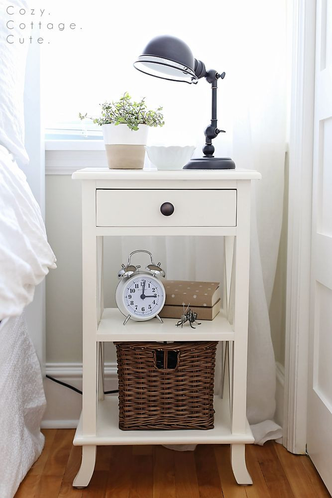 Side Table for Bedroom ♥ House tour