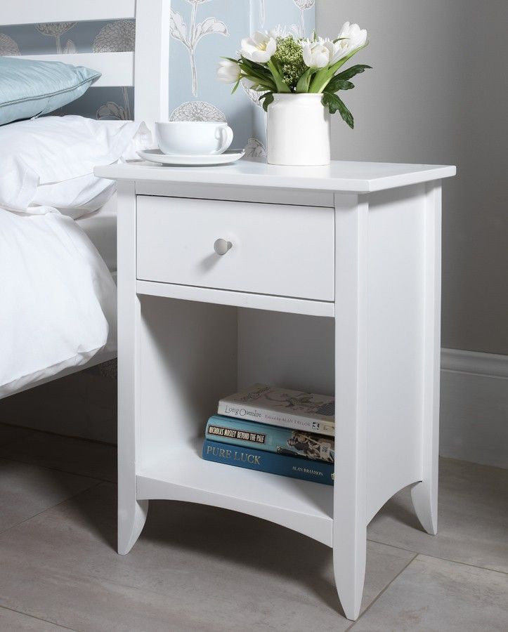Side Table for Bedroom Edward Hopper White Bedside Table …