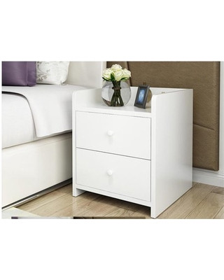 Side Table for Bedroom Hurrise Hurrise Modern Nightstand Side End Table with 2 Drawers Wooden Night Stand End Bed Side Table for Home Bedroom White From Wal Mart Usa Llc