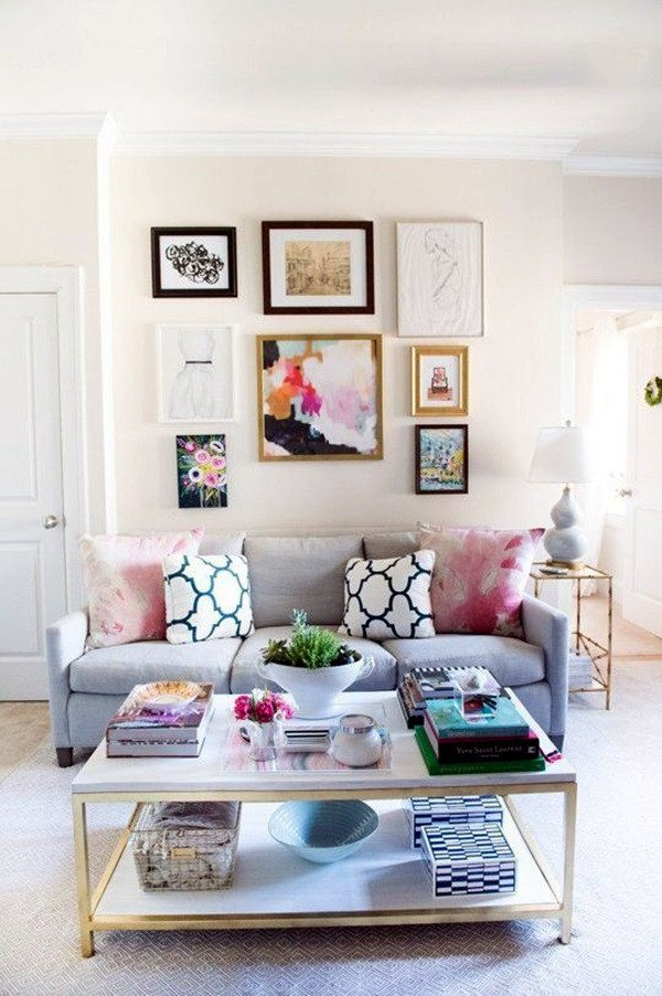 Simple Living Room Decorating Ideas 40 Simple but Fashionable Living Room Wall Decoration