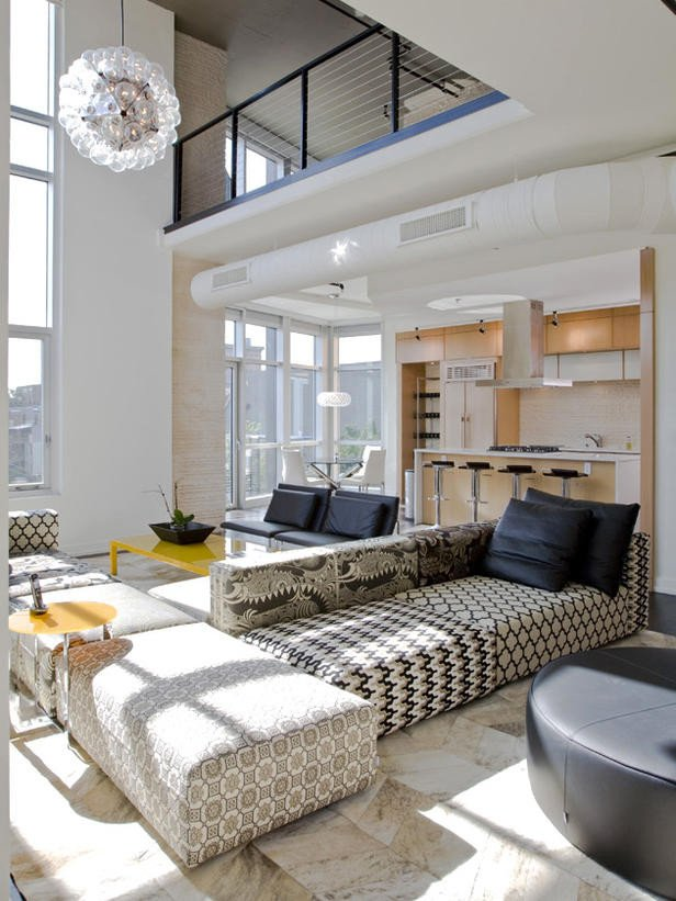 Simple Modern Living Room Decorating Ideas 2012 Living Room Design Styles From Hgtv