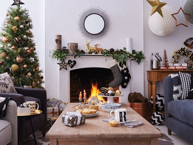 Simple Modern Living Room Decorating Ideas 5 Easy Christmas Living Room Decor Ideas