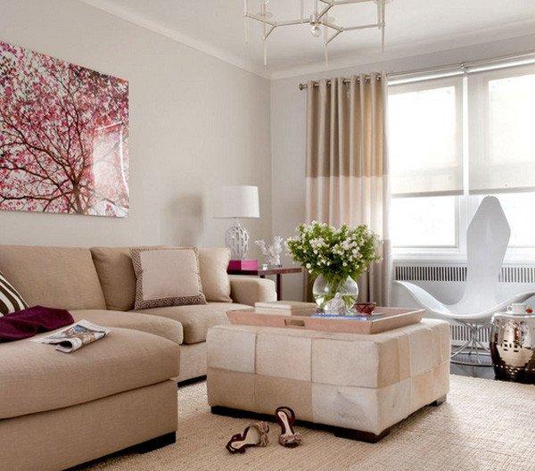 Simple Modern Living Room Decorating Ideas 国外小客厅设计装修欣赏 素材中国16素材网