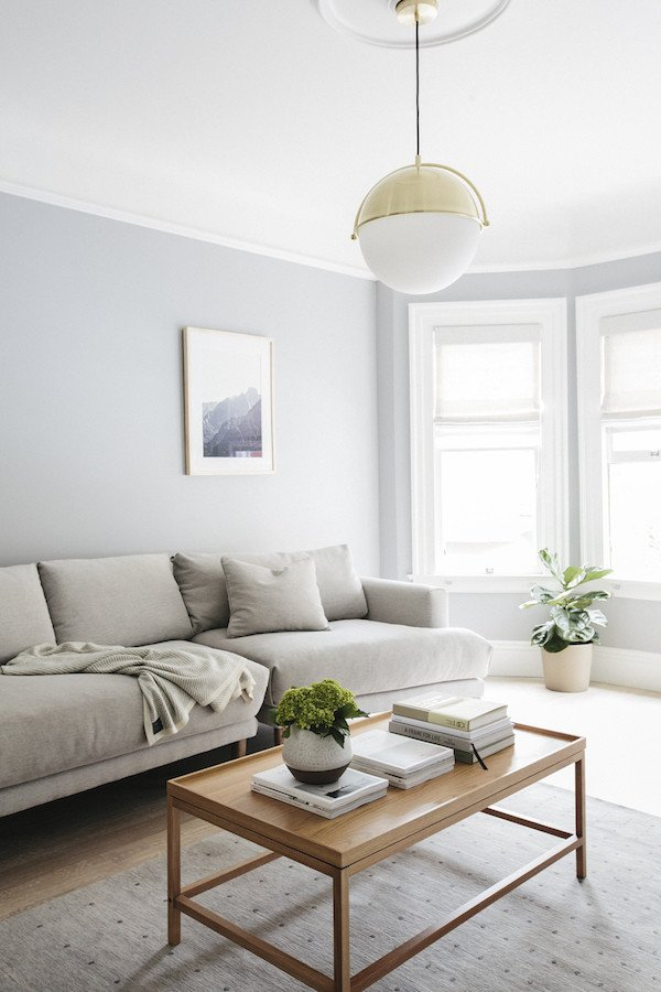 Simple Modern Living Room Decorating Ideas Home tour Warm Minimalism You Gotta See to Believe