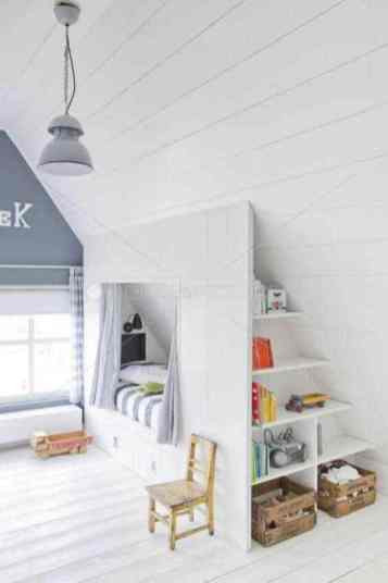 Sloped Ceiling Bedroom Ideas 20 Inspiring Ideas for Children S Bedrooms with Sloped Ceilings