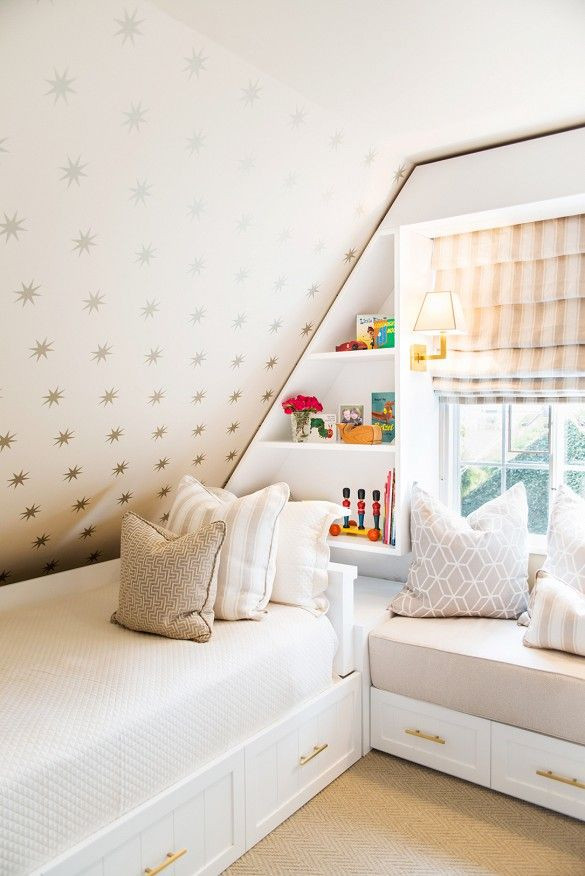 Sloped Ceiling Bedroom Ideas Small attic Bedroom Storage Kid S Room with Sloped Ceiling