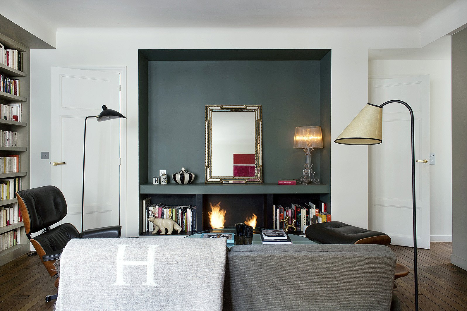 Small Apartment Living Room Decor 9 Small Space Ideas to Steal From A Tiny Paris Apartment