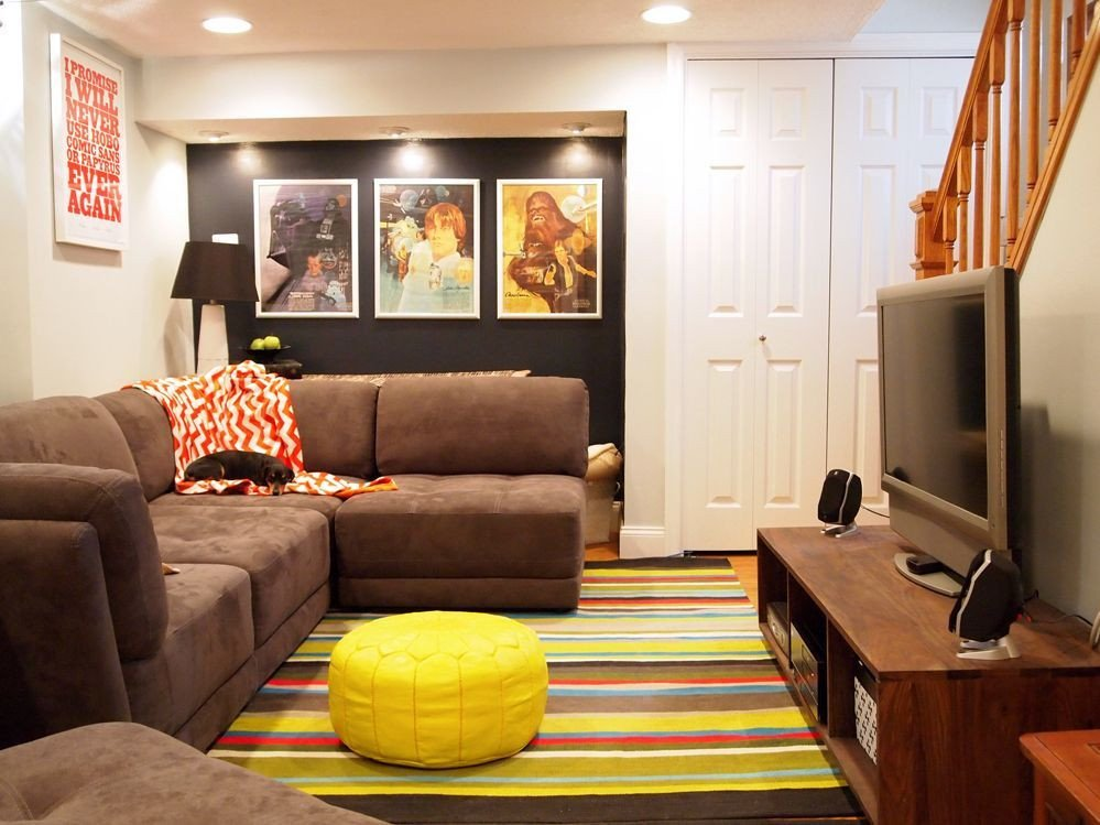 Small Basement Living Room Ideas 15 Amazing Midcentury Basement Designs