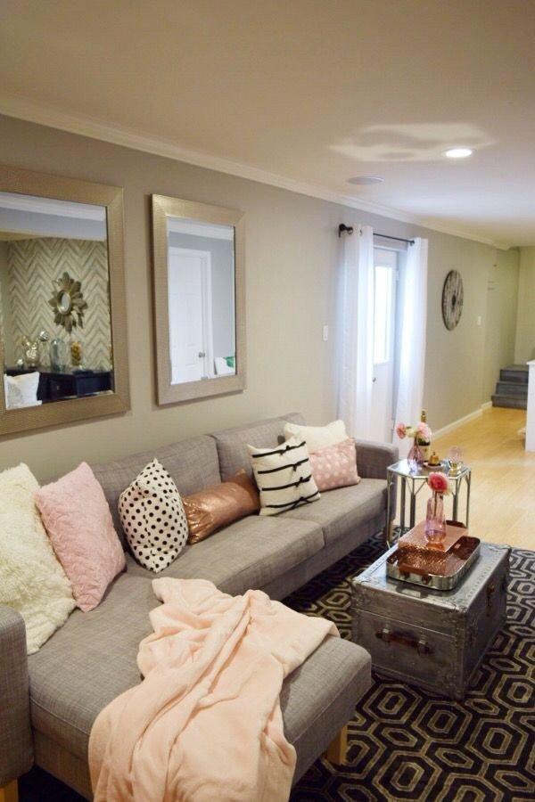Small Basement Living Room Ideas 17 Best Ideas About Living Room Setup Pinterest