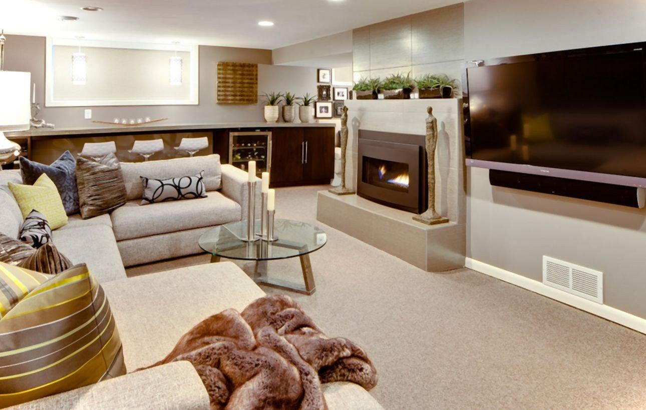 Small Basement Living Room Ideas 21 Stunning Modern Basement Designs