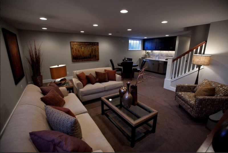Small Basement Living Room Ideas 30 Basement Remodeling Ideas & Inspiration