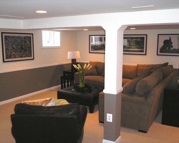 Small Basement Living Room Ideas 33 Inspiring Basement Remodeling Ideas