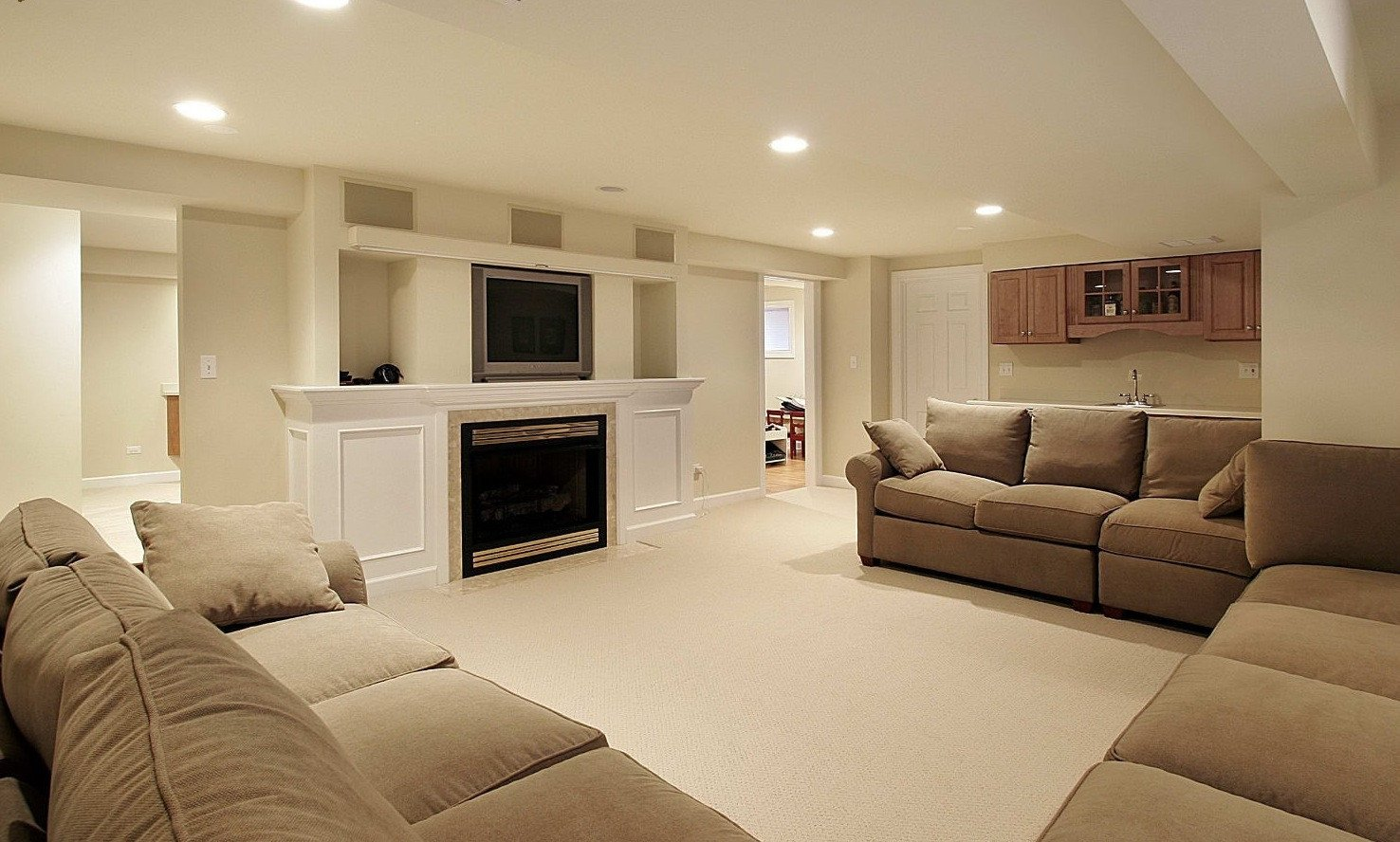 Small Basement Living Room Ideas Finished Basement Ideas for Cozy Additional Living Space