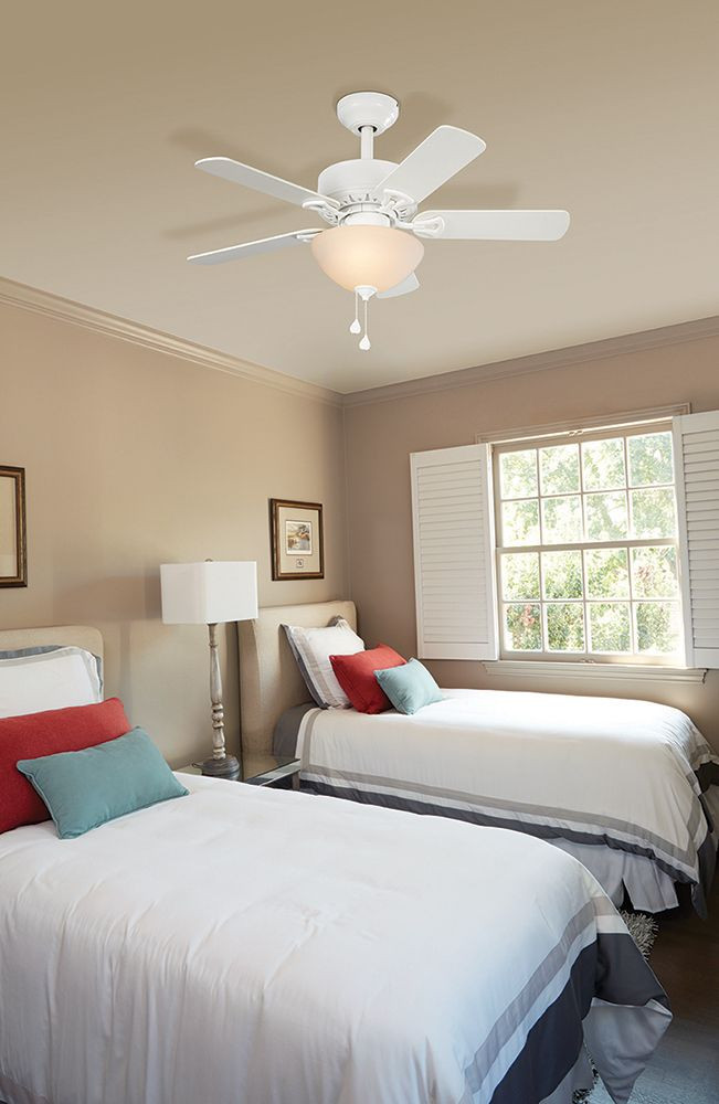 """Small Bedroom Ceiling Fan Harbor Breeze 36"""" Classic Ceiling Fan with Bowl Light A"""