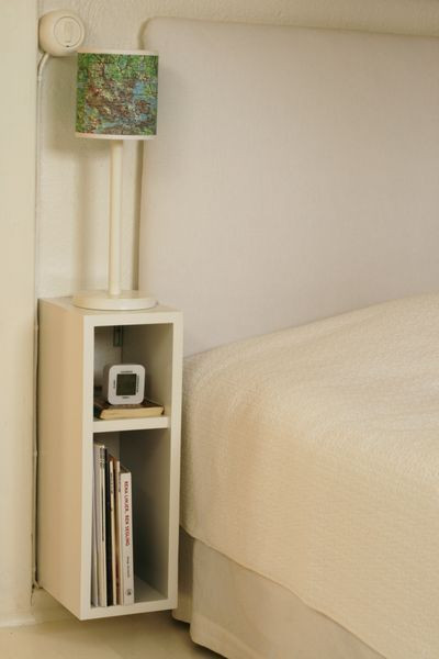 Small Bedroom End Tables Bedside Table Diy This Could Also Be Super Narrow Space In