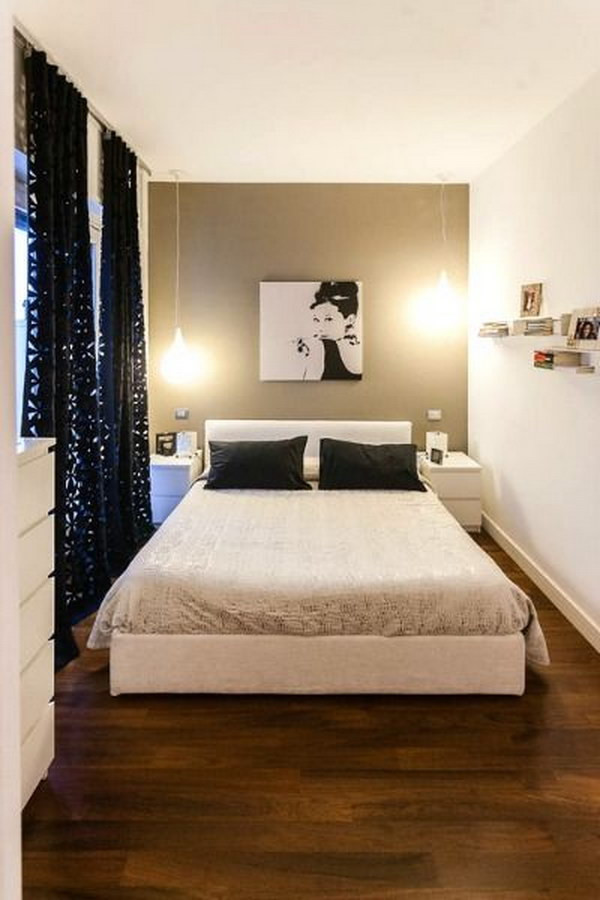 Small Bedroom King Bed Creative Ways to Make Your Small Bedroom Look Bigger Hative