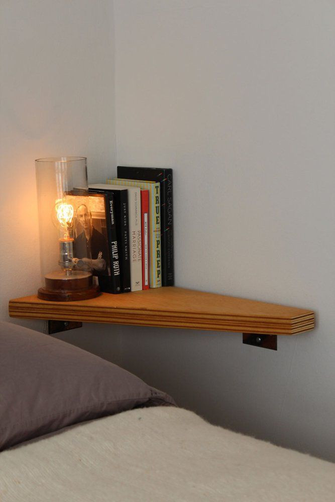 Small Bedroom Side Tables Small Nightstand Designs that Fit In Tiny Bedrooms