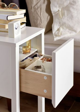 Small Bedroom Side Tables Us Furniture and Home Furnishings
