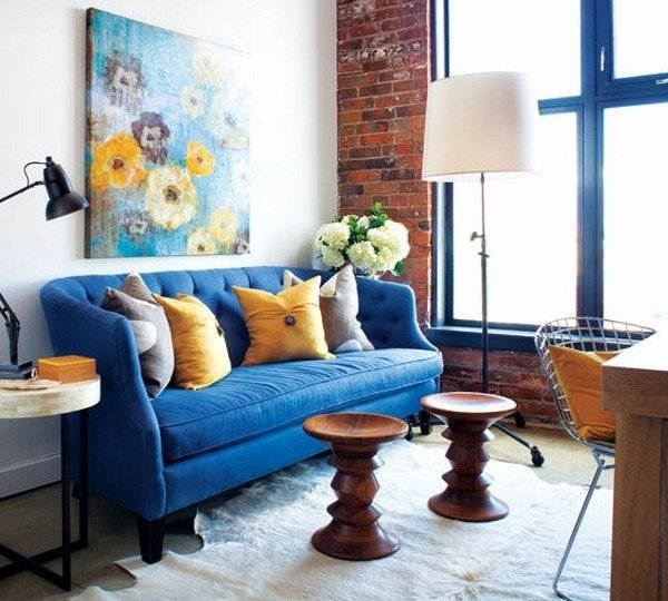 Small Blue Living Room Ideas 50 Decorating Ideas for Small Living Rooms Simple Tricks