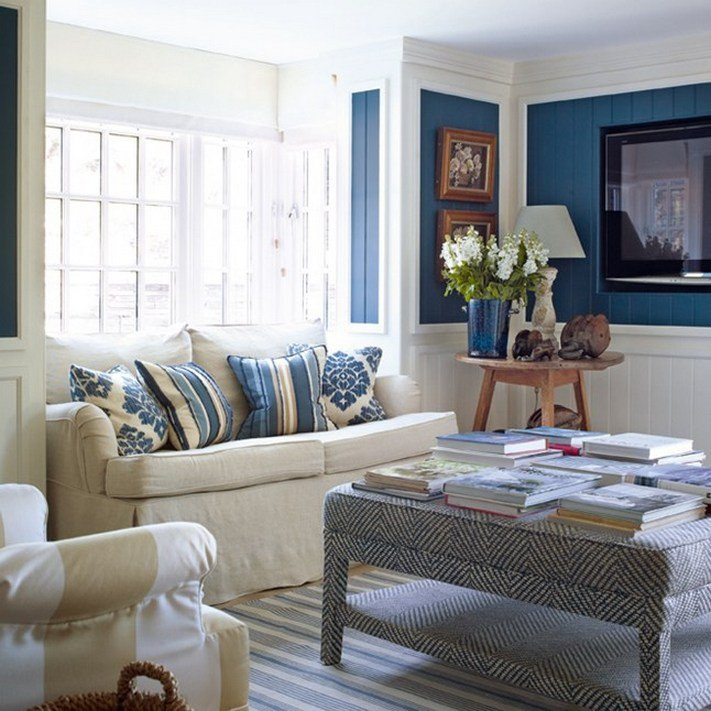 Small Blue Living Room Ideas 75 Ideas and Tips Interior Design Living Room Simple