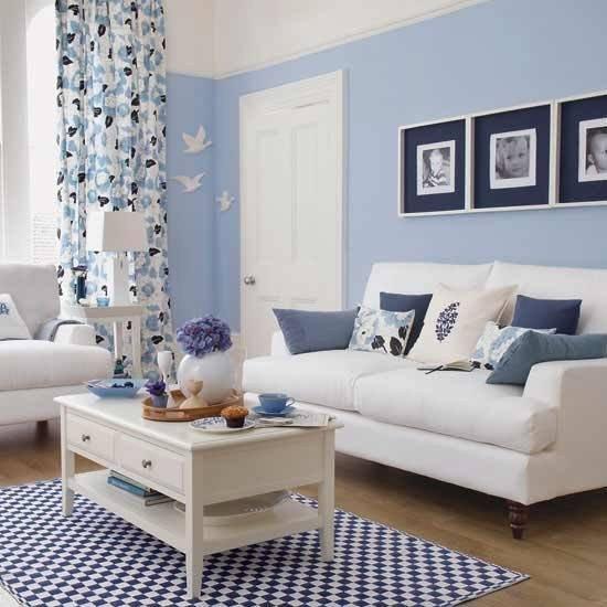 Small Blue Living Room Ideas Colores Para Salas De Estar Espaciohogar