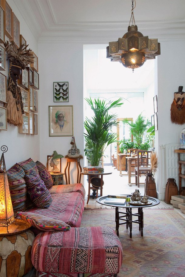 Small Bohemian Living Room Ideas 26 Bohemian Living Room Ideas Decoholic